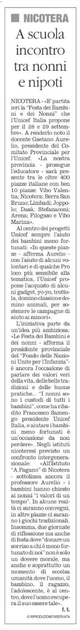 Il Quotidiano 29 9 2019